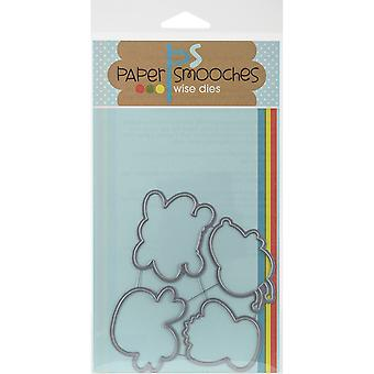 Paper Smooches Die-Giddy Bugs J3D245