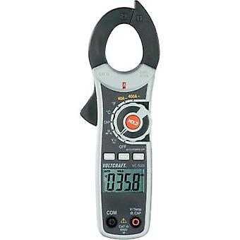 Current clamp digital VOLTCRAFT VC-520 Calibrated to: ISO standards CAT III 600 V Display (counts): 4000