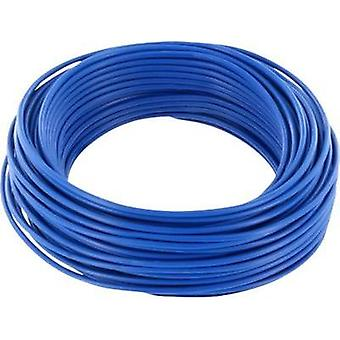 Jumper wire 1 x 0.2 mm² Blue BELI-BECO D 105/10 10 m
