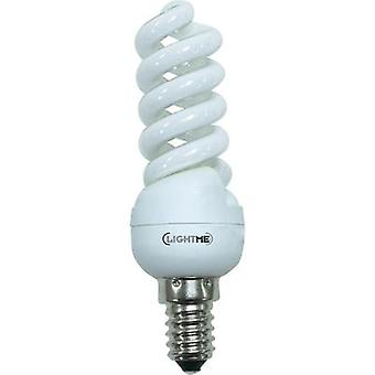 Energy-saving bulb 104 mm LightMe 230 V E14 11 W EEC: A Spiral shape Content 1 pc(s)