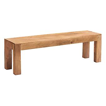 Phoenix Light Mango Dining Bench