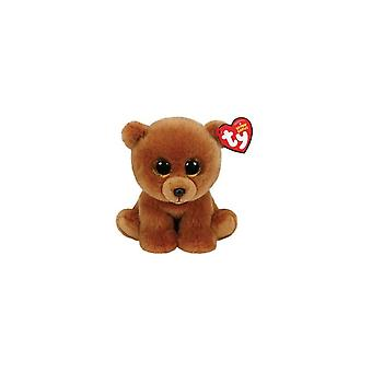 TY Classic Brownie Knuffel Beer 15cm