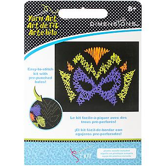 Me sentais Stitch Art Kit-héros masque 10