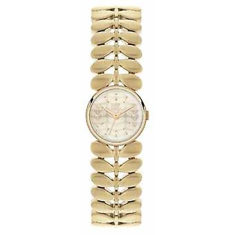 Orla Kiely Womens Laurel Gold PVD Plated OK4022 Watch