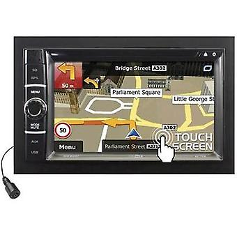 Caliber Audio Technology RDN802BT Double DIN Satnav Maps of Europe