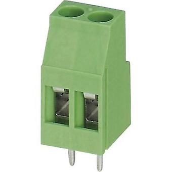 Screw terminal 2.50 mm² Number of pins 6 MKDS 3/ 6 Phoenix Contact Green 1 pc(s)