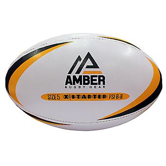 Amber Sporting Goods X- Trainer Match Training league Rugby Ball Size 5