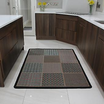 Moderne grønne & Orange køkken tæppe Panama 019 11
