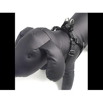 Classic Soft Protection Nylon Harness Black Large 1