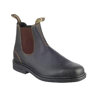 Blundstone 062 Dress Mens Boots Slip On Brown Leather Stylish Footwear Blundies