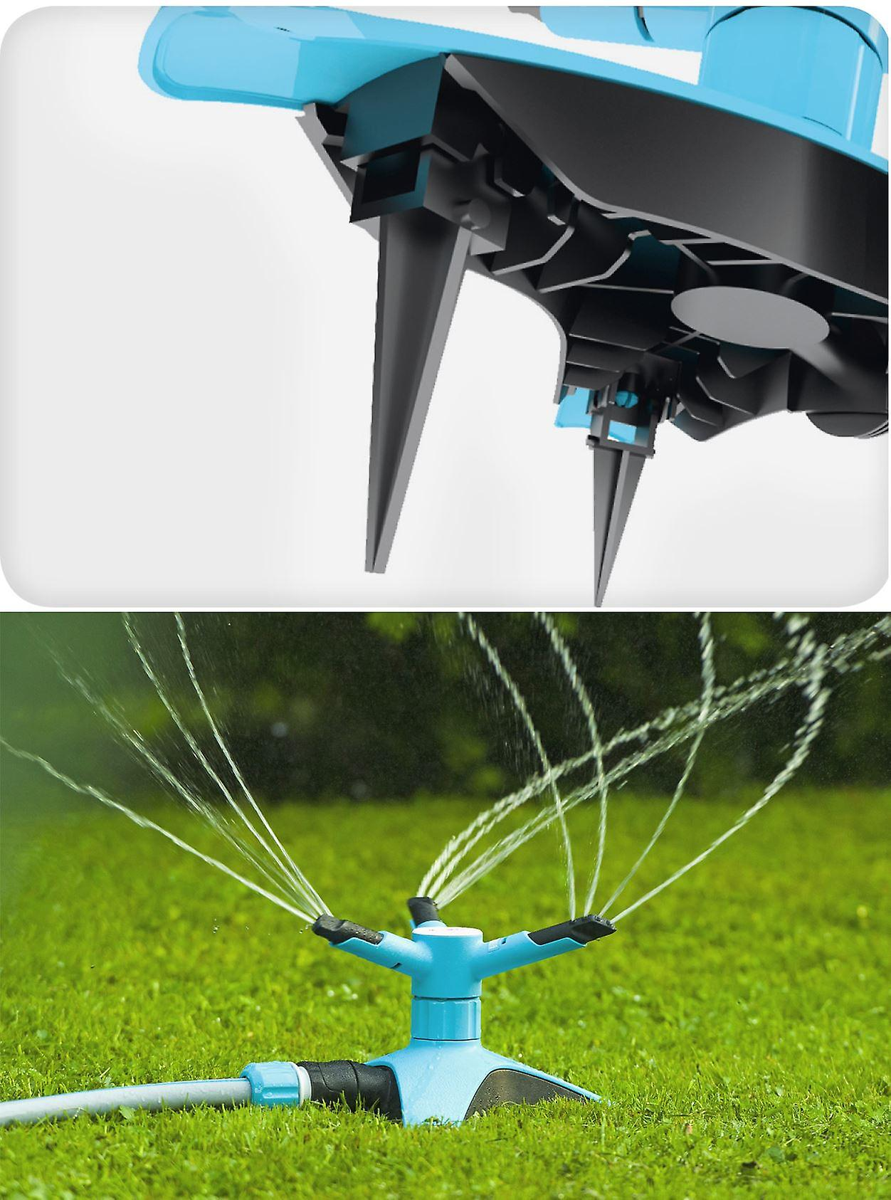 Rotating Sprinkler for Grass Lawn Outdoor Garden Watering Irrigation System