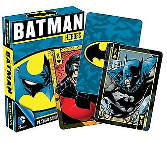 Batman Heroes set van 52 speelkaarten (+ jokers) (nm)
