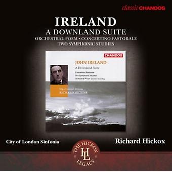 Irland: en Downland Suite [City of London Sinfonia Richard Hickox] [CHANDOS: CHAN10912X] af City Of London Sinfo
