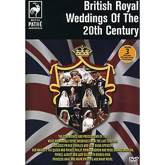 British Royal Weddings of the 20th Century [DVD] USA import