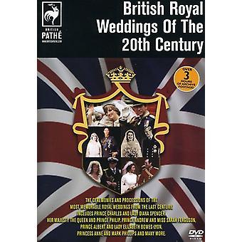 Bodas reales británicas del siglo XX importar de Estados Unidos [DVD]