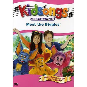 Kidsongs - Mød Biggles [DVD] USA importen