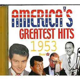 Greatest Hits de los Estados Unidos - Greatest Hits de Vol. 4-1953-América [CD] USA importar