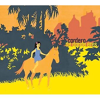 Cordero - De Donde Eres [CD] USA importerer