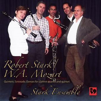Stark Ensemble - kvintetter / Serenade / danser / lyriske stykker for [CD] USA import