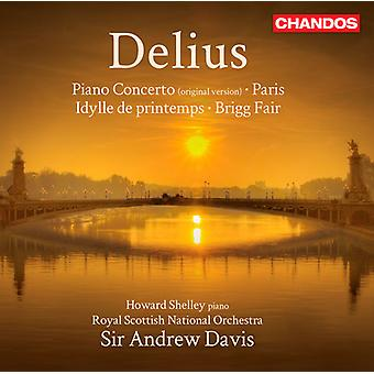 F. Delius - Frederick Delius: Piano Concerto; Brigg Fair; Etc. [CD] USA import