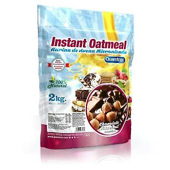 Quamtrax Nutrition Harina de Avena 900 gr Strawberry (Sport , Proteins and carbohydrates)