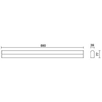 Exo Wl.Sheid Ip44 Led 1*12W 960Lm 3000K Cr (Home , Lighting , Wall sconces)