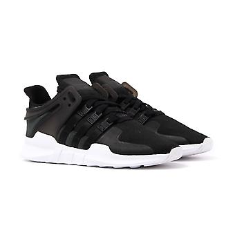 Adidas Originals EQT Support ADV Black Jersey Knit Trainers