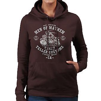 Men Of Mayhem Sons Of Anarchy Damen Sweatshirt mit Kapuze