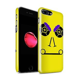 STUFF4 Gloss Hard Back Snap-On Phone Case for Apple iPhone 7 Plus / Brakes/Yellow Design / Car Part Faces Collection