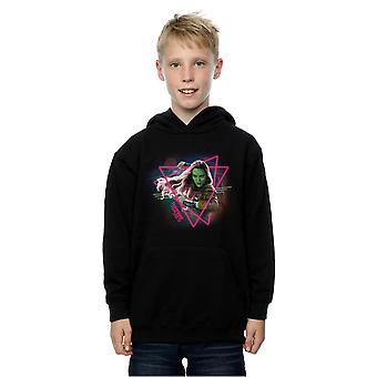 Marvel Boys Guardians Of The Galaxy Neon Gamora Hoodie