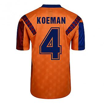 Score Draw Barcelona 1992 Away Shirt (Koeman 4)