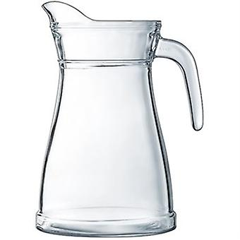 Bucolique Jug 1.3L Purity Certified Glass Hygenic glass Great For Home Or Restaurant