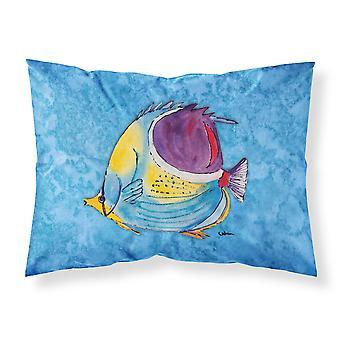 Soporte de tela absorbe la humedad Tropical peces Carolines tesoros 8676PILLOWCASE