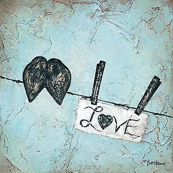 Love Poster Print by Britt Hallowell (12 x 12)