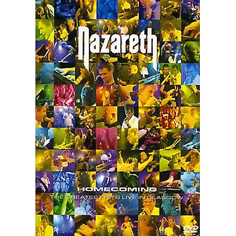 Nazareth - Homecoming-Greatist Hits Live i Glasgow [DVD] USA import