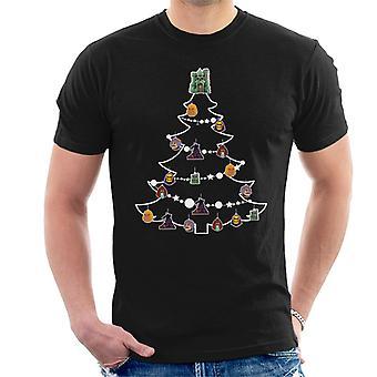 He Man Christmas Tree Baubles Men's T-Shirt