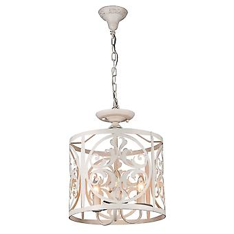 Maytoni Lighting Rustika House Collection Pendant, Cream Gold
