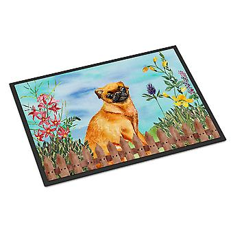Small Brabant Griffon Spring Indoor or Outdoor Mat 18x27