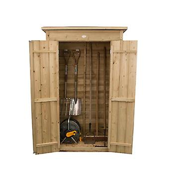 Forest Garden Pressure Treated Pent Tall Wooden Garden Store