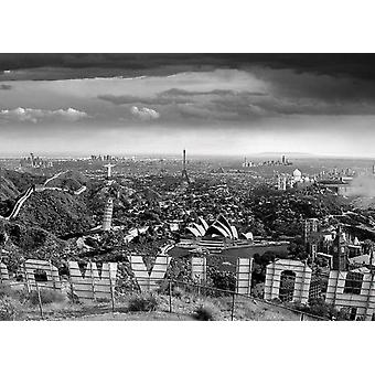 Thomas Barbey One Too Many Drinks Poster Poster Print