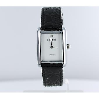 Montine DN00S1LIPS White Dial Leather (No Box)