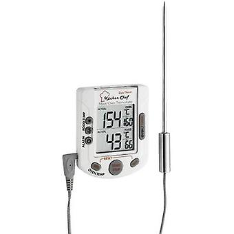 Kitchen thermometer Oven and core temperature, incl. touchscreen, incl. timer, ALarm TFA