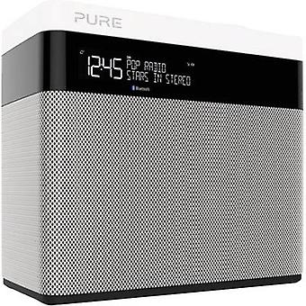 DAB+ Table top radio Pure Pop Maxi Bluetooth Bluetooth, DAB+, FM Black, White