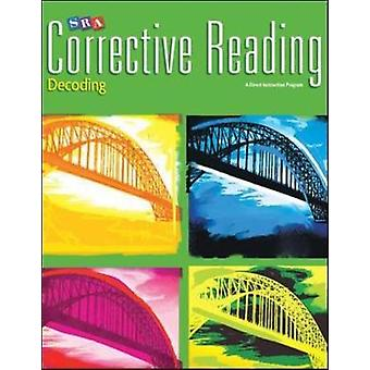 Corrective Reading Decoding Level C Student Book