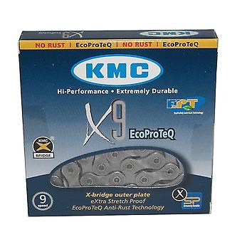 KMC X9e EcoProteQ (anti-rust) 9-speed chain / / 116 links