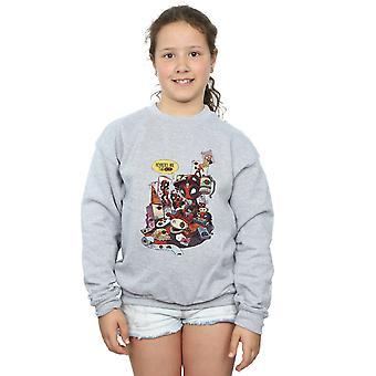 Marvel piger Deadpool Merchandise Royalties Sweatshirt