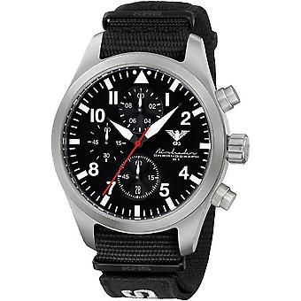 KHS mens watch Airleader Steel Chronograph KHS. AIRSC. NXT7