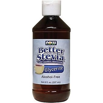 Now Foods Better Stevia Glycerite AlcoholFree 237 ml (Diät , Süßstoffe)