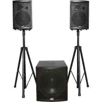 BST Active speaker set 1700 Watts