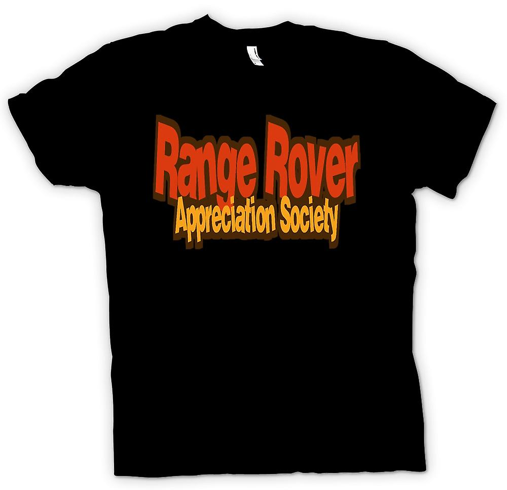 Womens T-shirt-Range Rover Appreciation Society